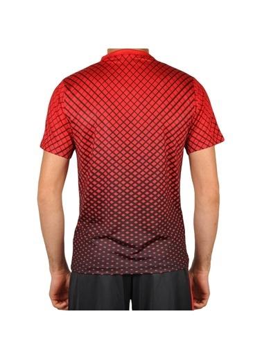 Walkway Flake Tişört Füme-Gri Erkek Tişört Kırmızı